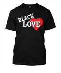Black Love_Heart T-Shirt