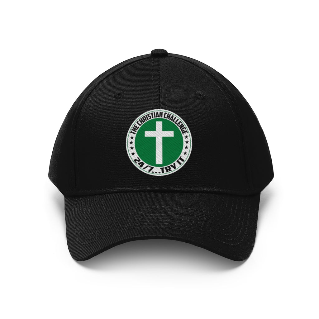 The Christian Challenge 24/7 Hat