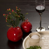Pomegranate Vases or Candleholders