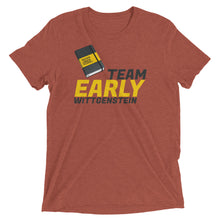 Load image into Gallery viewer, Team Early Wittgenstein: Premium Philosophy T-shirt