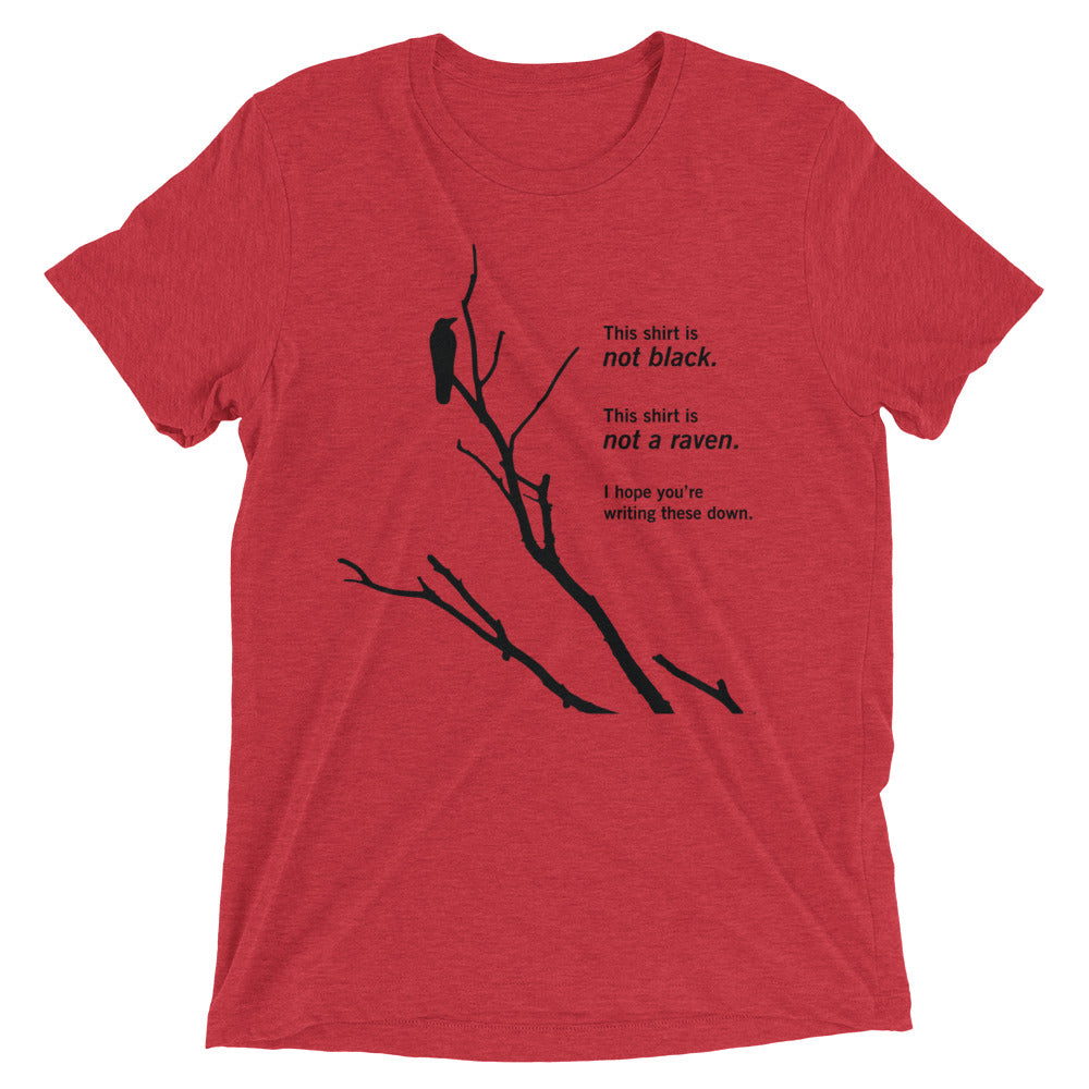 Paradox of the Ravens: Premium Philosophy of Science T-shirt