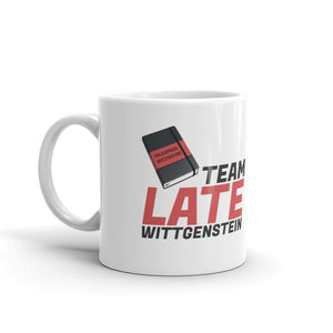 Team Late Wittgenstein: Philosophy Mug
