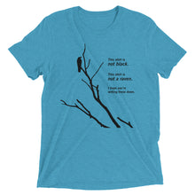 Load image into Gallery viewer, Paradox of the Ravens: Premium Philosophy of Science T-shirt