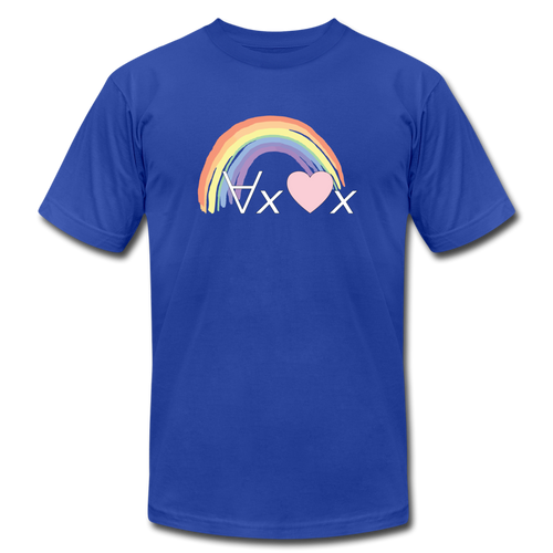 Love Everyone: Philosophy T-Shirt - royal blue