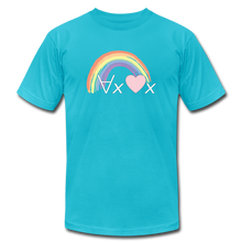 Load image into Gallery viewer, Love Everyone: Philosophy T-Shirt - turquoise
