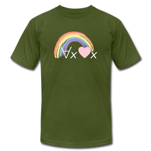 Load image into Gallery viewer, Love Everyone: Philosophy T-Shirt - olive