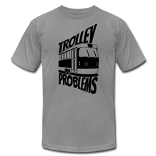 Load image into Gallery viewer, Trolley Problems: Ethics T-Shirt - slate