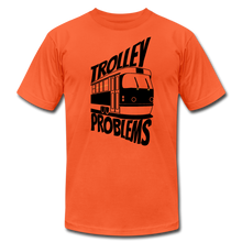 Load image into Gallery viewer, Trolley Problems: Ethics T-Shirt - orange