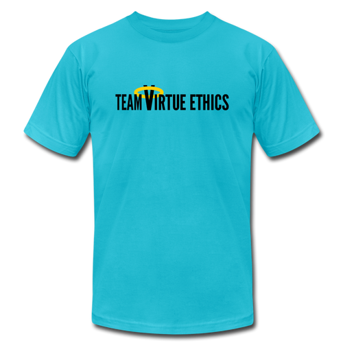 Team Virtue Ethics: Philosophy T-Shirt - turquoise