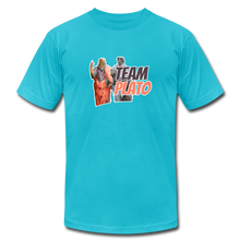 Load image into Gallery viewer, Team Plato: Philosophy T-Shirt - turquoise