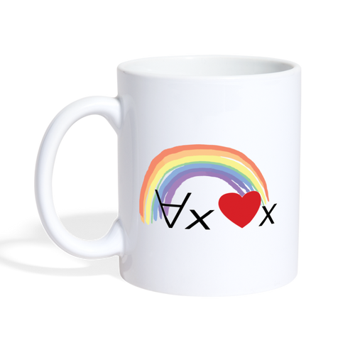 Love Everyone: Mug - white