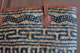 Logan Bucket  Straw Bag