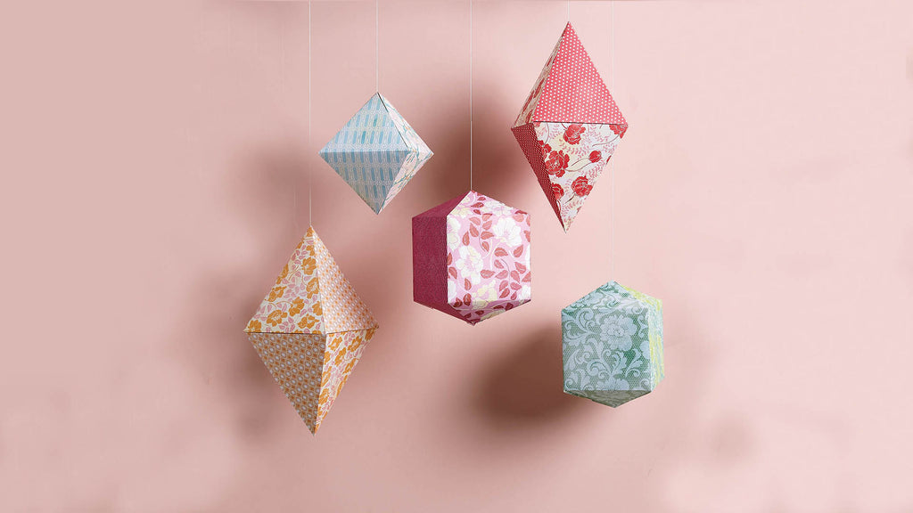 How To Make Solid Geometry Paper Lantern at Home With Children?