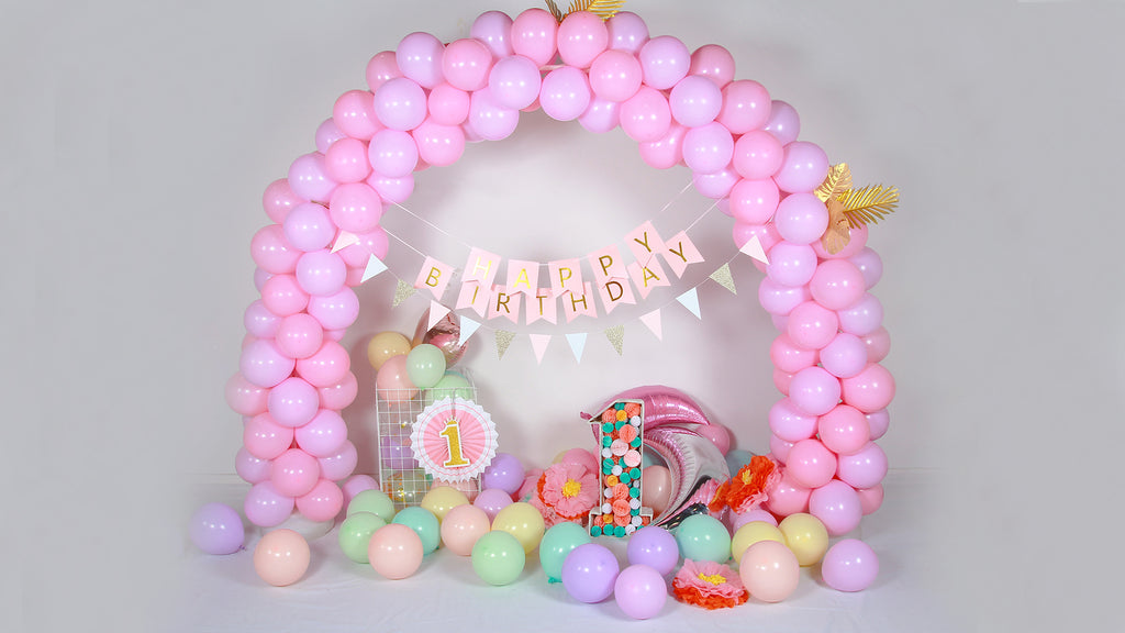 HOW TO MAKE A BIRTHDAY POMPOM NUMBER STAND?