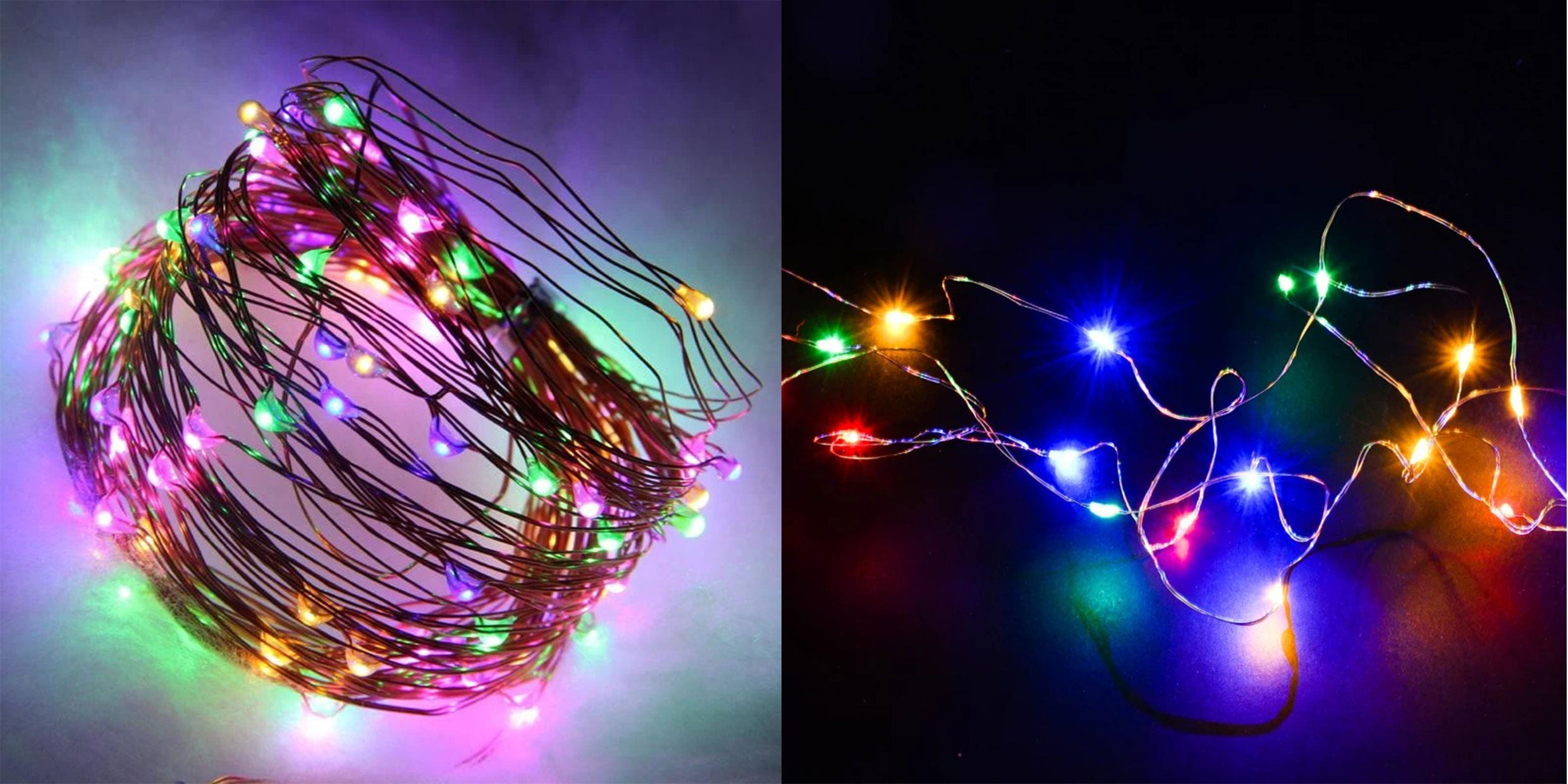 Garden Party Decorations LED Waterproof Copper String Lights