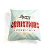 Christmas Series Pillow Cover Cushion Custom Zippered Square Pillowcase - Sunbeauty