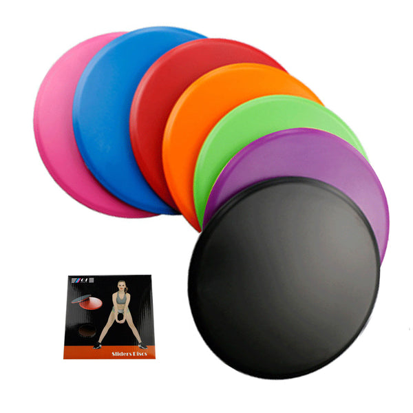 A Pair Fitness Dual Sided Core Sliders-FreeShipping