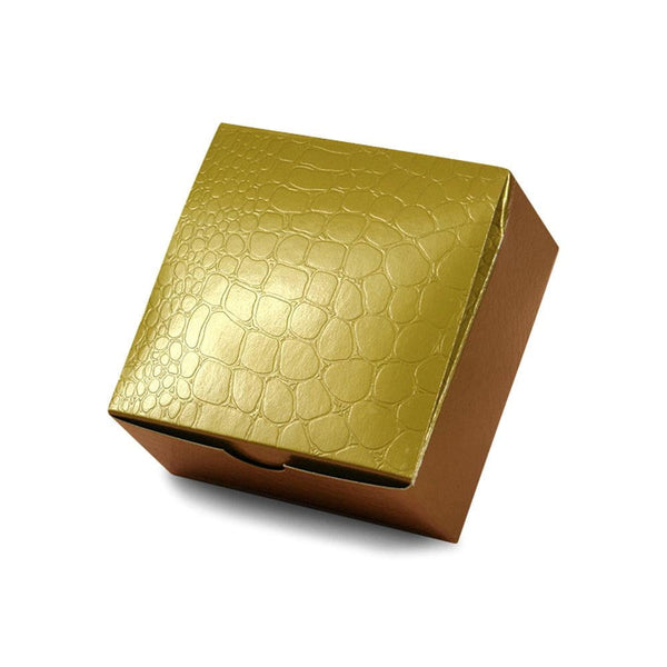 Gold Square Gift Box - Sunbeauty