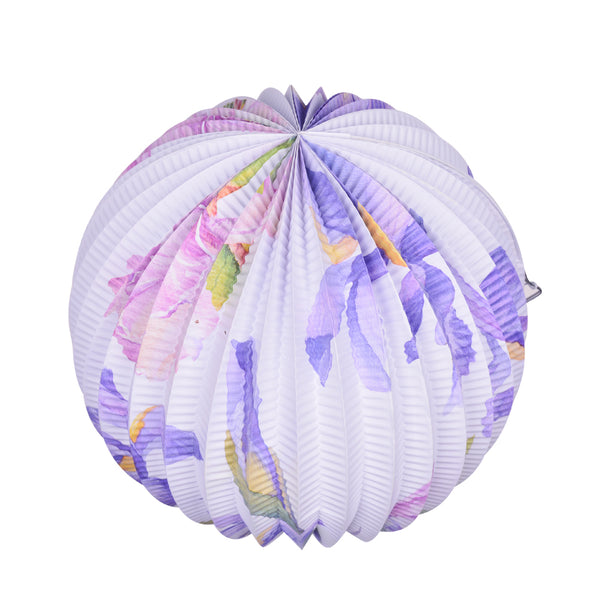 Tea Party Decorations Floral Paper Lanterns - Sunbeauty