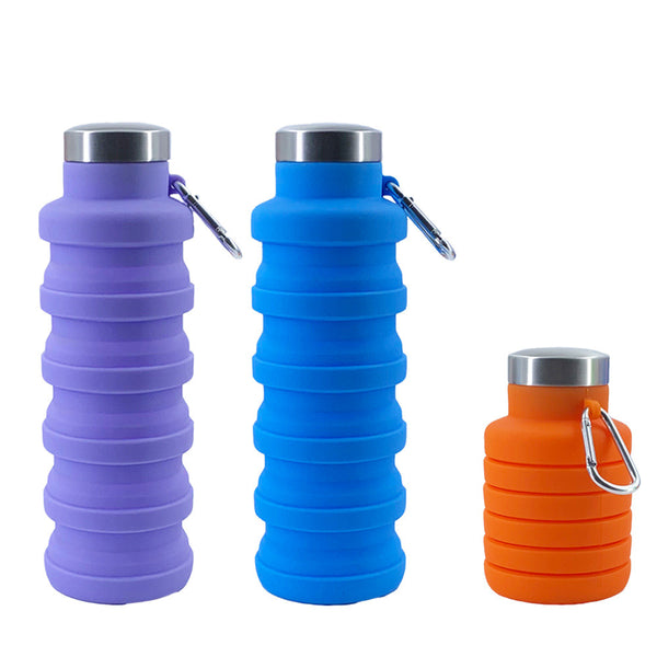 Collapsible Portable Leak Proof Sports Water Bottle-FreeShipping