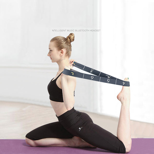High Elastic Resistant Exercise Resistance Band-FreeShipping