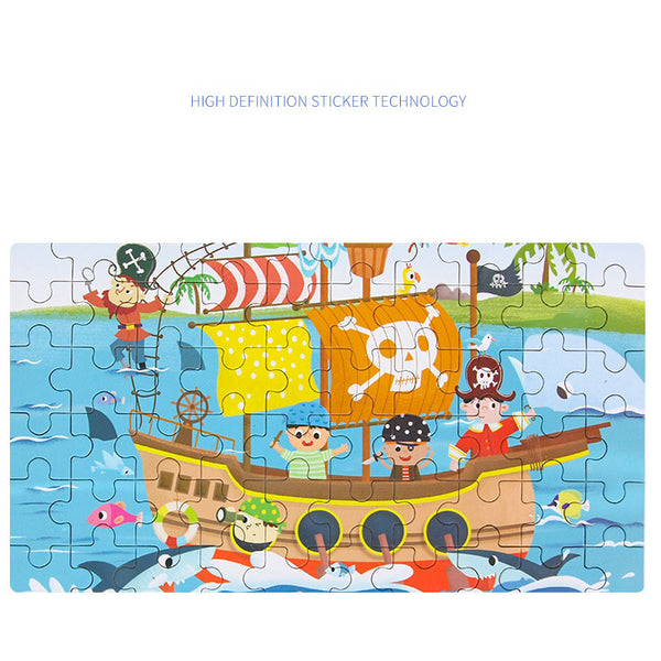 60 pcs Birthday Festival Gift Puzzles for Children-FreeShipping