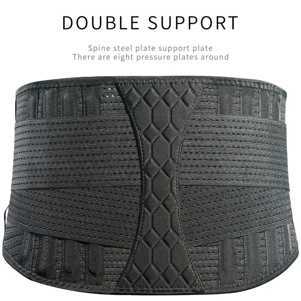 Double Band Strength Weight Lifting Belt-FreeShipping