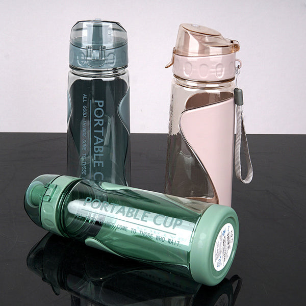 Sports Water Bottle with Leak Proof Flip Top Lid-FreeShipping