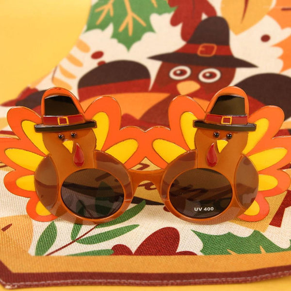 Thanksgiving Creative Turkey Sunglasses - Sunbeauty