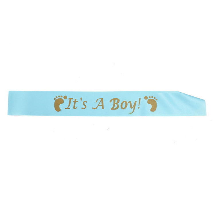 """Mum To Be"" Sash Baby Shower Party Supplies - Sunbeauty"