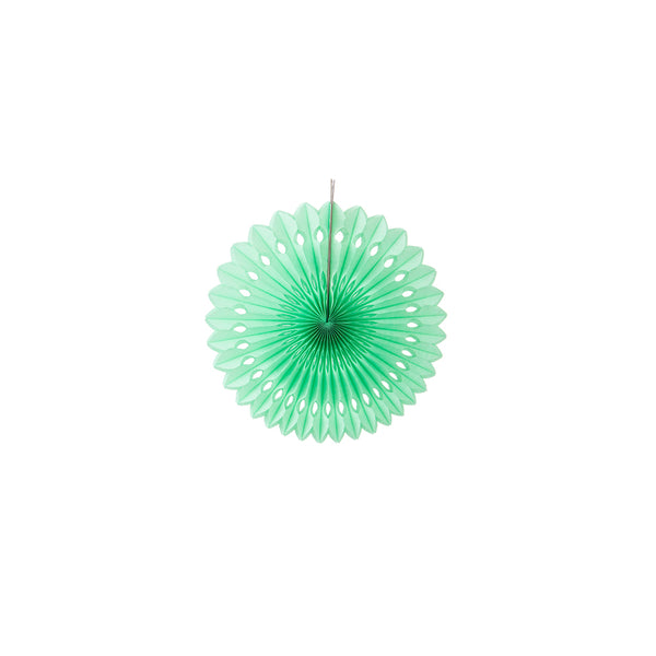 Muticolors Pinwheel Paper Fan for Decoration - Sunbeauty