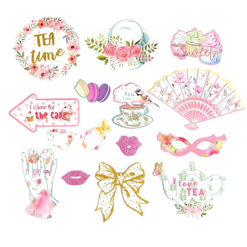 Girls Tea Party Photo Booth Prop - cnsunbeauty