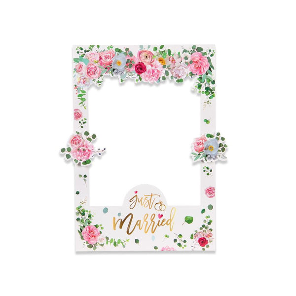 Wedding Flower Photo Booth Frames - Sunbeauty