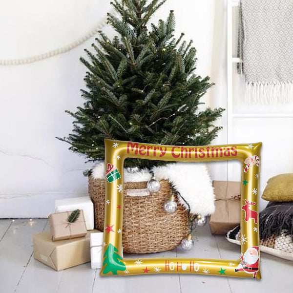 Christmas Inflatable Photo Frame - Sunbeauty