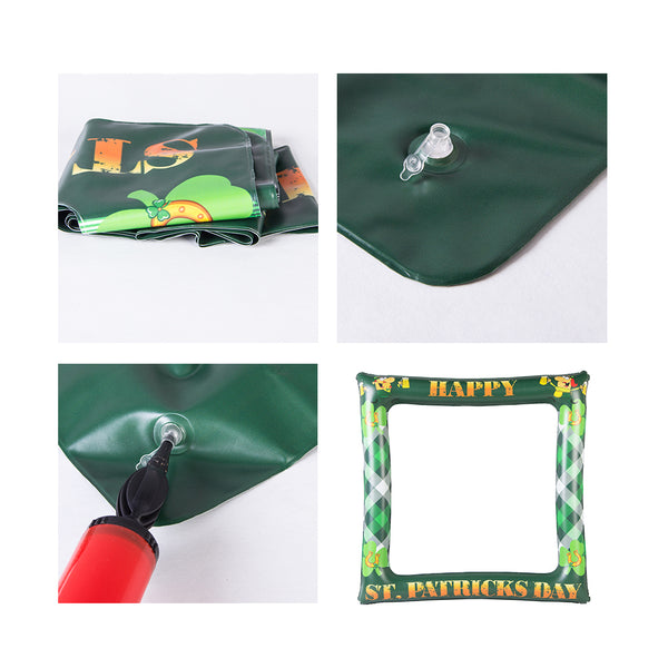 Irish St Patrick's Day Photo Booth Props Inflatable Frame - Sunbeauty