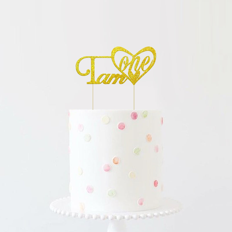 I'm One Birthday Cake Topper Decoration - Sunbeauty