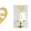 Heart Pricess Birthday Cake Topper Decoration - Sunbeauty