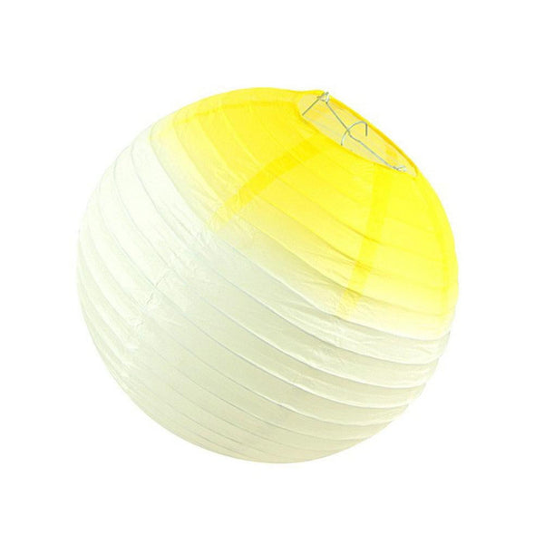 Yellow-white gradient lantern - cnsunbeauty
