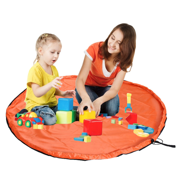 Portable Baby Play Mat Toys Storage Bag-FreeShipping - Sunbeauty