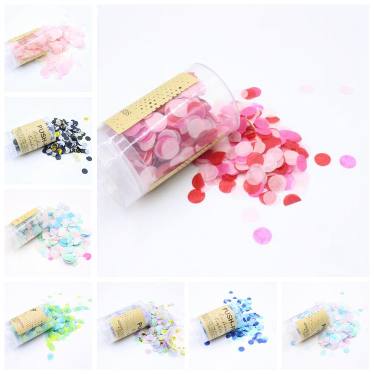 Push Pop Containers Sprinkle Confetti Poppers