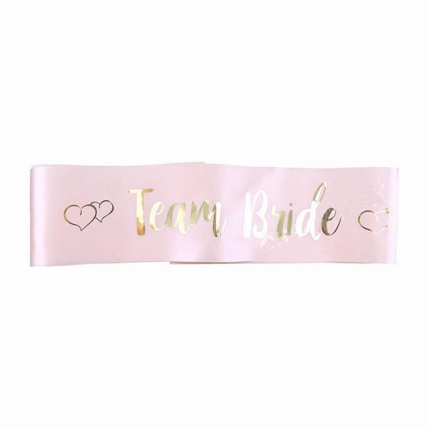 Bachelor Hen Party Satin Sash - Sunbeauty