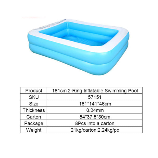 Outdoor Inflatable Swimming Pool for Adults&Kids