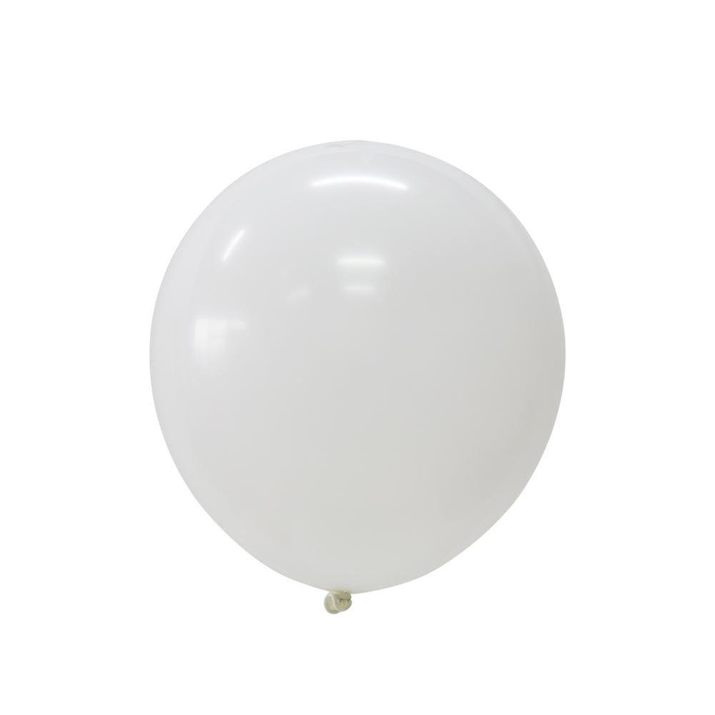 5Pcs White Latex Balloon Kit - Sunbeauty