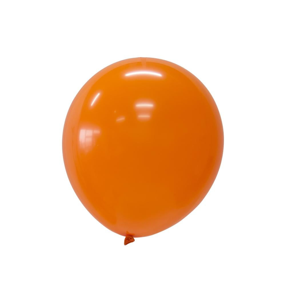 5Pcs Orange Latex Balloon Kit - Sunbeauty
