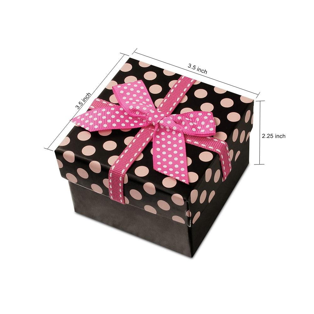 Bow Point Paper Gift Box - Sunbeauty