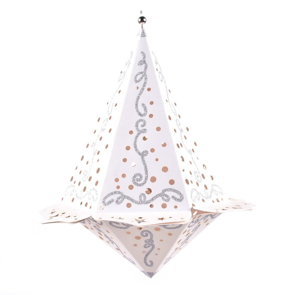 $4.9-Free Shipping: Led Diamand Paper Lantern (A) - Sunbeauty