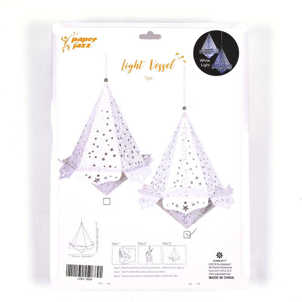 Led Diamand Paper Lantern (A)-50Pcs Free Shipping - Sunbeauty
