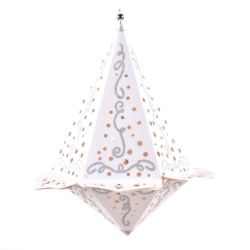 $4.9-Freeshipping-Led Diamand Paper Lantern (A) - Sunbeauty