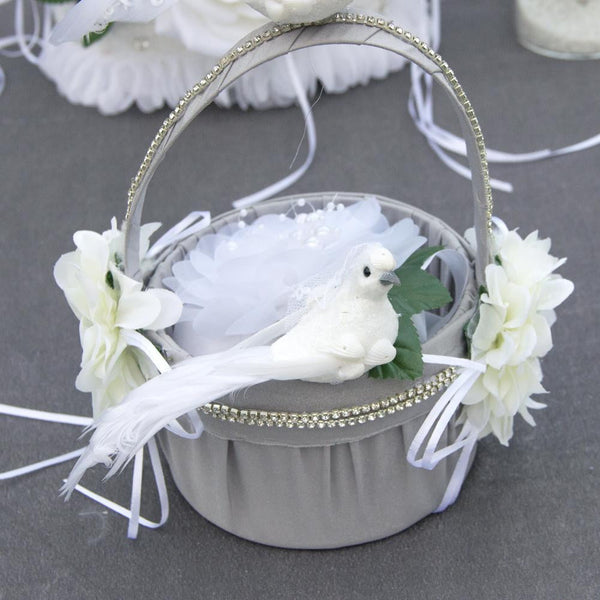 White Top Hat Wedding Dove - Sunbeauty