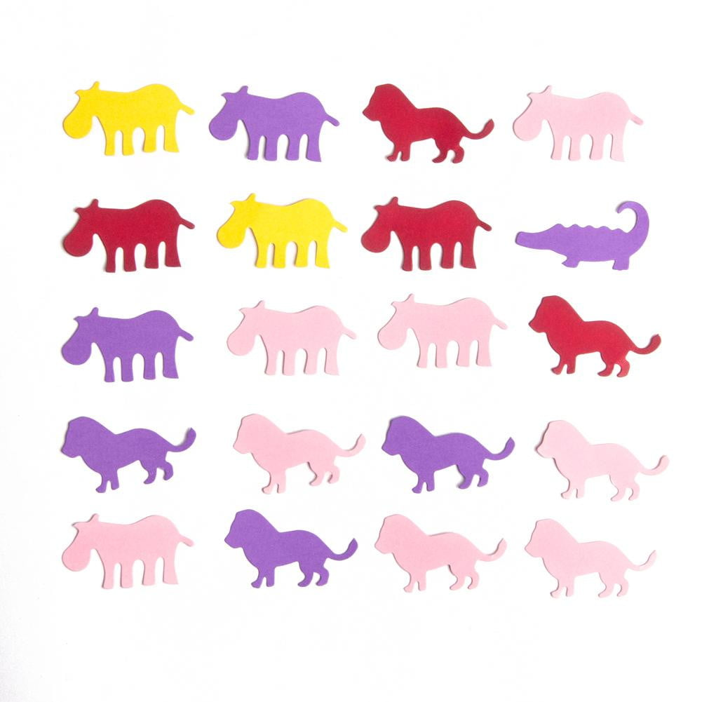 Jungle party Paper Confetti - Sunbeauty
